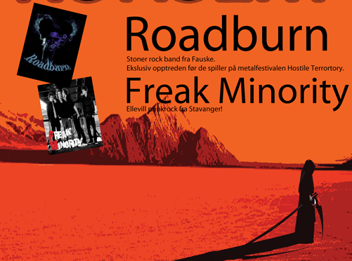 Stoner – Punk rockinvasjon fredag 25 januar – Roadburn & Freak Minority