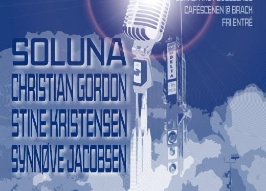 Caféscenen: Konsert tirs. 15 okt kl. 18:00