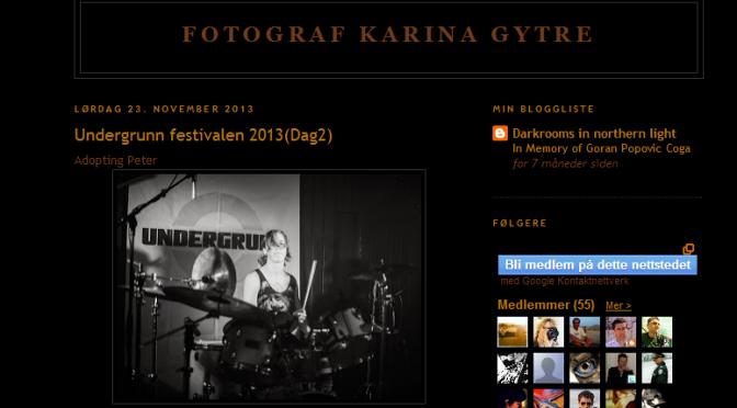Bilder fra årets Undergrunn // Fotograf Karina Gytre
