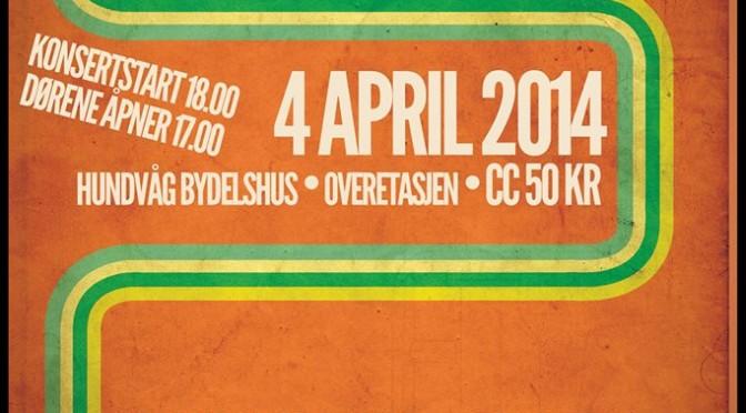 ØYAROCK 2014 – 4 april // Gigantkonserten våkner til live igjen