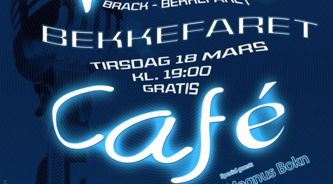 Live Café tir 18 mars kl. 18:00 – Konsert på kaféscenen i Bekkefaret