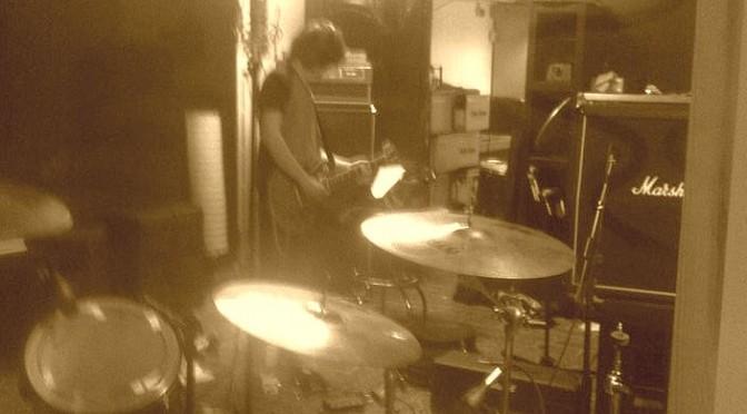 Gary Bites i studio