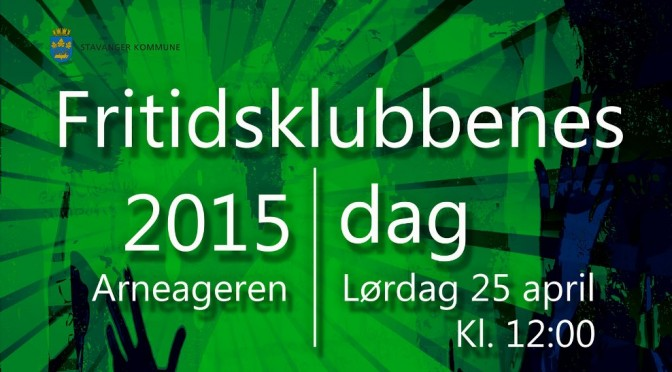 Fritidsklubbenes Dag // Lør. 25 april kl. 12:00 – Arneageren med liv og lyd