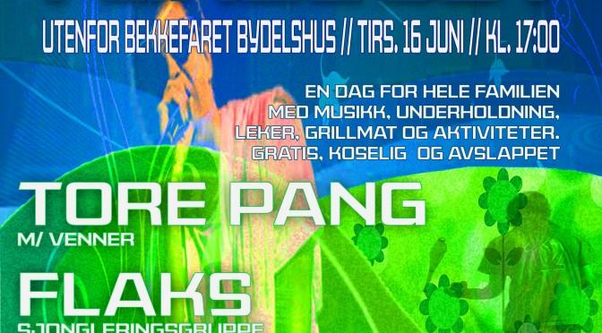 Sommer i gresset // Familiedag i Bekkefaret 16 juni – 17:00