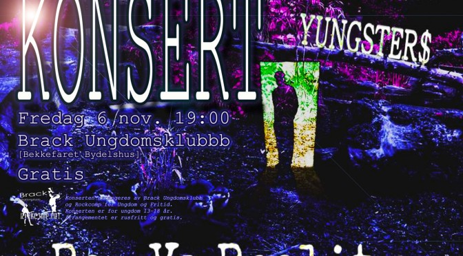 RAP vs Reality – Mixtape fra Yungster$// Konsert 6 nov kl. 19:00