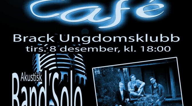 Cafe Live i Bekkefaret // Konsert med Band Solo tirs 8 des. kl. 18:00