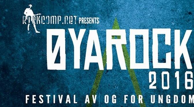 Øyarock lør. 15 april // Rockfestival på Øynå