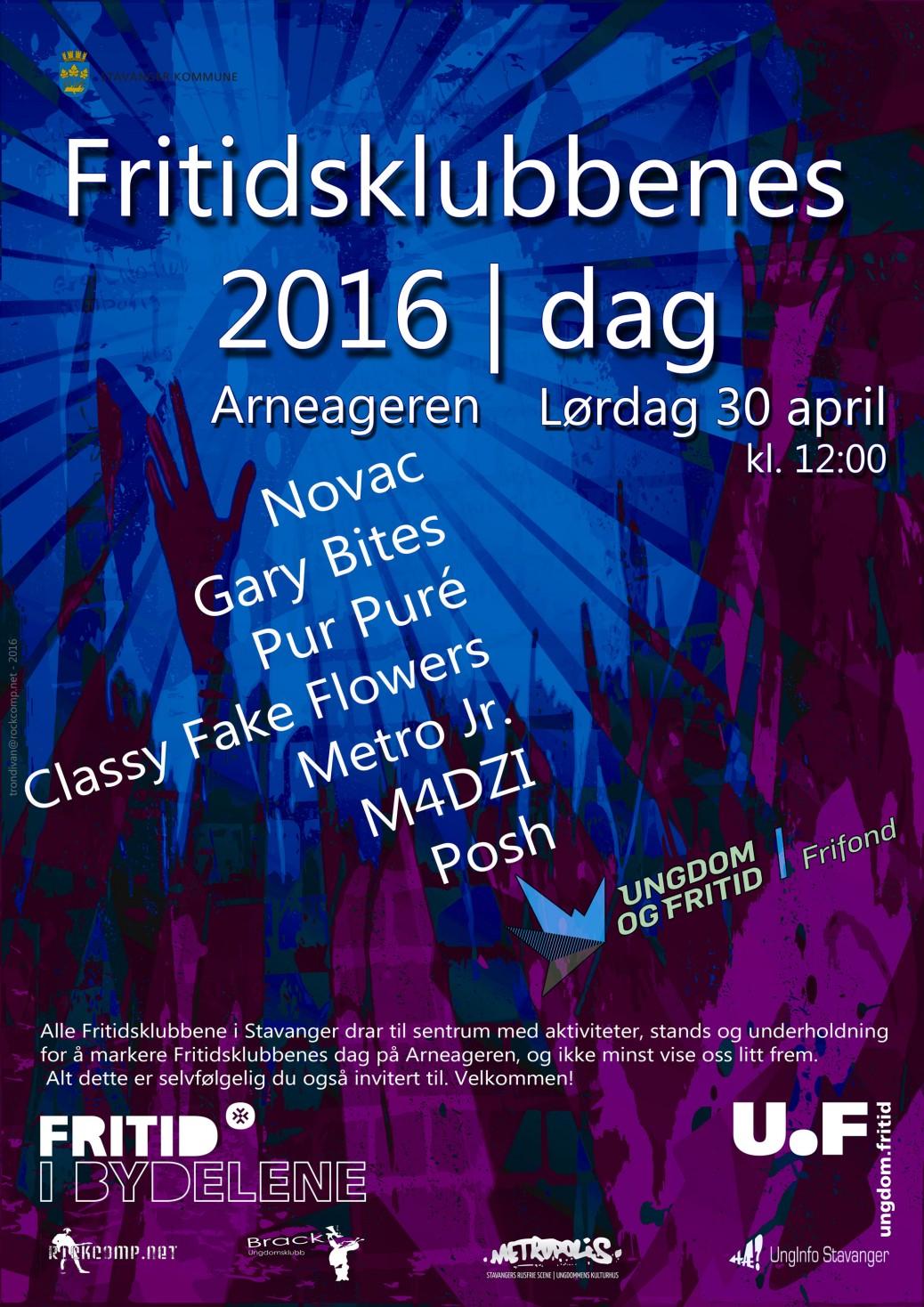 Vi feirer Fritidsklubbenes Dag 30 april
