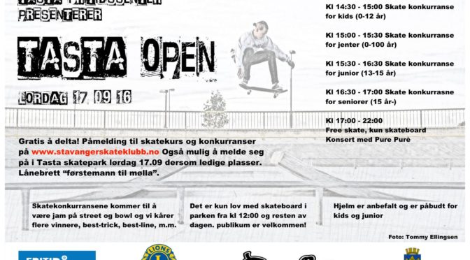 Tasta Open 2016 // Lørdag 17 september