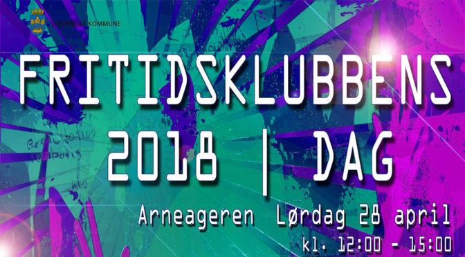 Fritidsklubbens Dag 2018 // Underholdning for hele familien