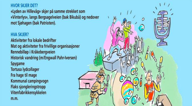 LYDEN AV HILLEVÅG // Bydelsfest Lørdag 15 sept. 13-19:30